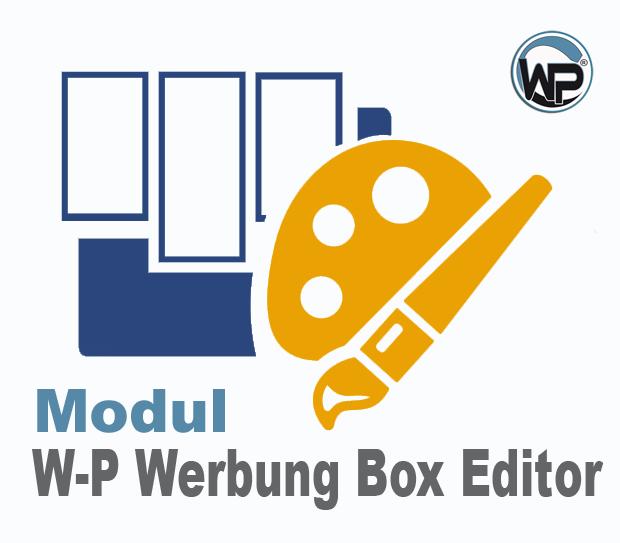 W-P Werbung Box Editor - Modul