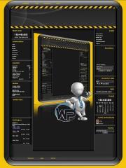 W-P Achtung, Fun-Template für das CMS Portal V2