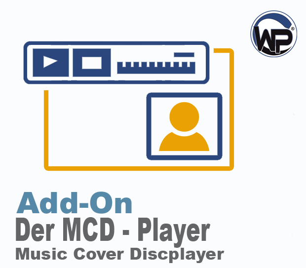 W-P Music Cover Discplayer (MCD) - Add-On f�r die V2